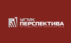 Логотип НПФ УГМК-Перспектива в 2020 году