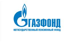 Логотип НПФ ГАЗФОНД в 2021 году