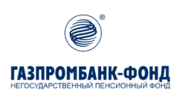 Логотип НПФ Газпромбанк-фонд в 2021 году